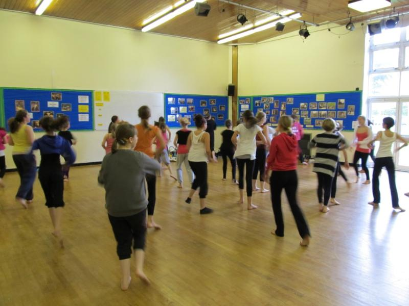 Picture of dance lesson
